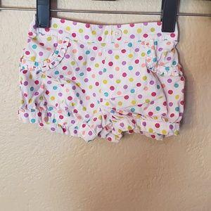 Garanimals polka dot shorts 12 months